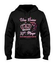 Una reina 30de-album crown -T5 Hooded Sweatshirt thumbnail