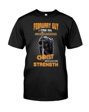 Strength guy-US-T2 Classic T-Shirt front
