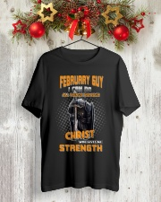 Strength guy-US-T2 Classic T-Shirt lifestyle-holiday-crewneck-front-2