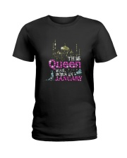 This Queen was born in 2 - January Ladies T-Shirt front