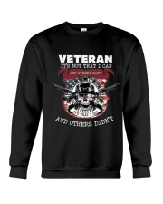 VETERAN-I CAN I DID Crewneck Sweatshirt thumbnail