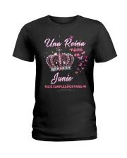 Una reina 8-T6 fix Ladies T-Shirt front