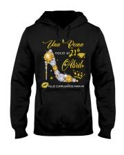 Una reina-21-album-yellow-T4 Hooded Sweatshirt thumbnail
