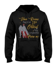 Una reina-15-album-guocdoi-yellow-T4 Hooded Sweatshirt thumbnail