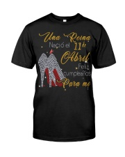 Una reina-11-album-guocdoi-yellow-T4 Classic T-Shirt front