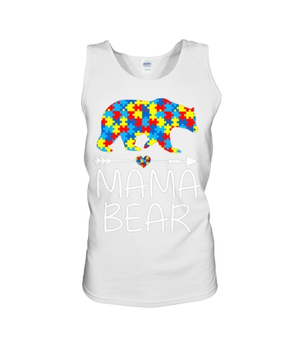 Mama Bear Autism Awareness Autism MomMommy