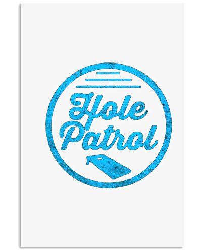 Hole Patrol Retro Cornhole Team Duo Vintage