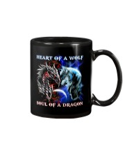 Heart Of A Wolf Soul Of A Dragon Mug front