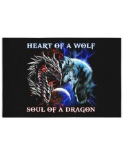 Heart Of A Wolf Soul Of A Dragon Puzzles tile