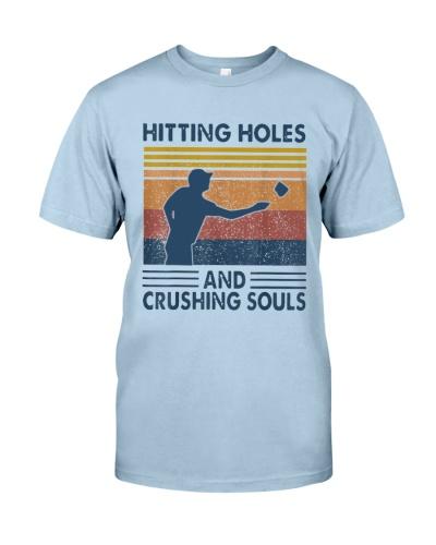 Hitting Holes And Crushing Souls Cornhole