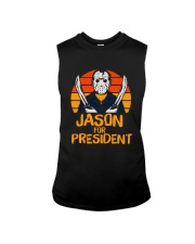 Jason For President Halloween Friday The 13th Sleeveless Tee tile