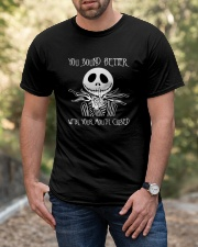 You Sound Better With Your Mouth Closed Classic T-Shirt apparel-classic-tshirt-lifestyle-front-53