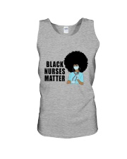 Black Nurses Matter Unisex Tank tile