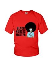 Black Nurses Matter Youth T-Shirt tile