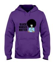 Black Nurses Matter Hooded Sweatshirt tile