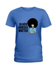 Black Nurses Matter Ladies T-Shirt tile