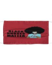 Black Nurses Matter Mask tile