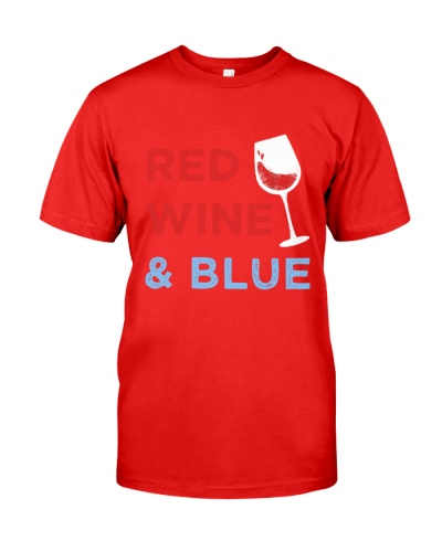 Red Wine And Blue 4th of July
