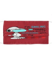Mask Smiling Under The Hugging You In My Heart Mask tile