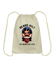 Beard Oil You Mean Love Juice Drawstring Bag tile