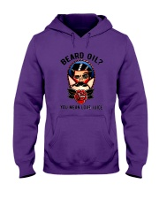 Beard Oil You Mean Love Juice Hooded Sweatshirt tile