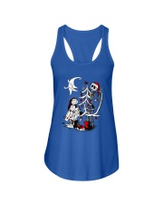 Jack And Sally Before Christmas Ladies Flowy Tank tile