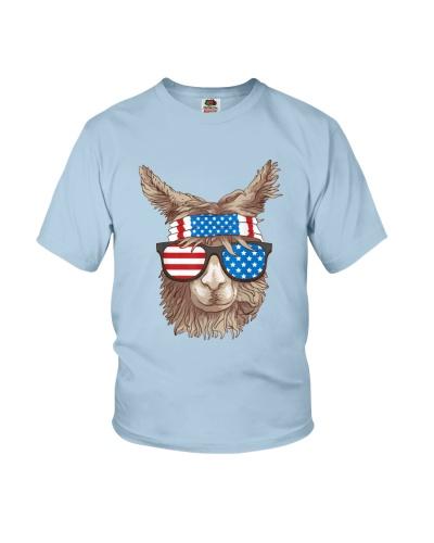 USA Patriotic Llama