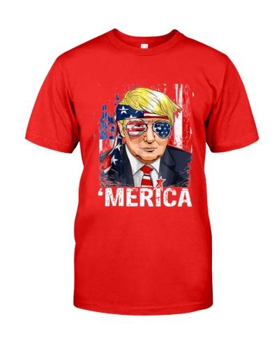 Trump Merica Murica 4th of July