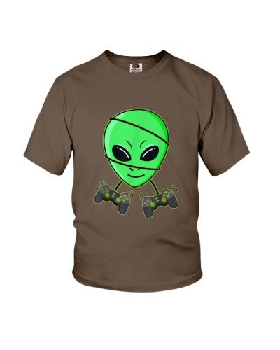 Halloween Alien Video Gamer Controllers