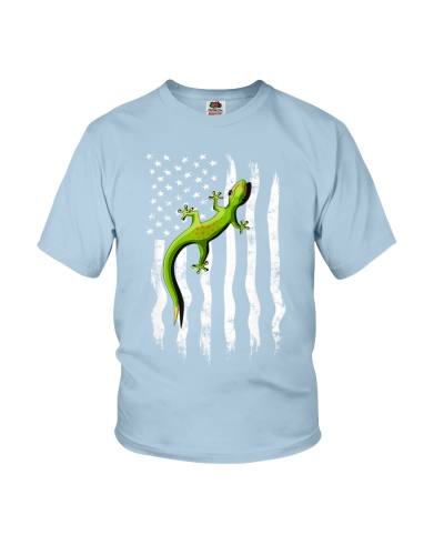 Climbing Gecko Independence Day Grungy
