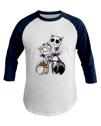 Jack Skellington And Sally Cat Halloween