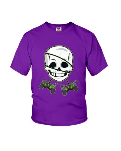 Halloween Skeleton Video Gamer Controllers