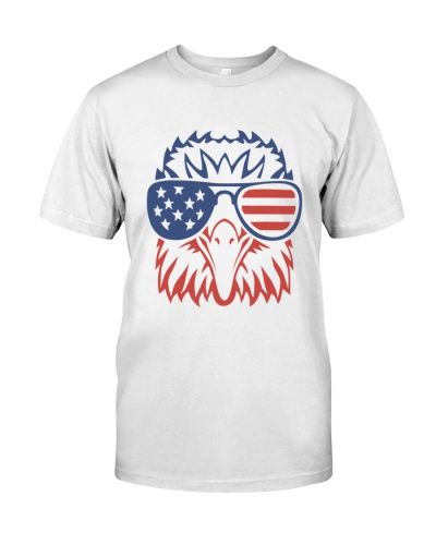 Patriotic Eagle 4th of July