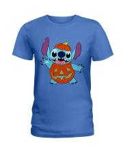 Halloween Pumpkin  Ladies T-Shirt tile