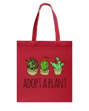 Cactus Adopt A Plan Funny Succulent Indoor Garden Tote Bag tile