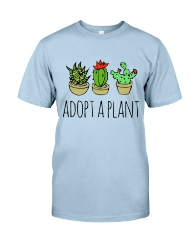 Cactus Adopt A Plan Funny Succulent Indoor Garden