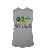 Cactus Adopt A Plan Funny Succulent Indoor Garden Sleeveless Tee tile