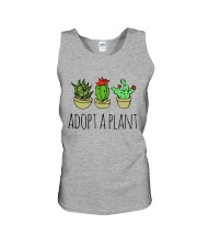 Cactus Adopt A Plan Funny Succulent Indoor Garden Unisex Tank tile