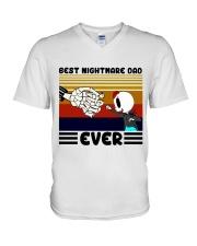 Dad and Son V-Neck T-Shirt tile