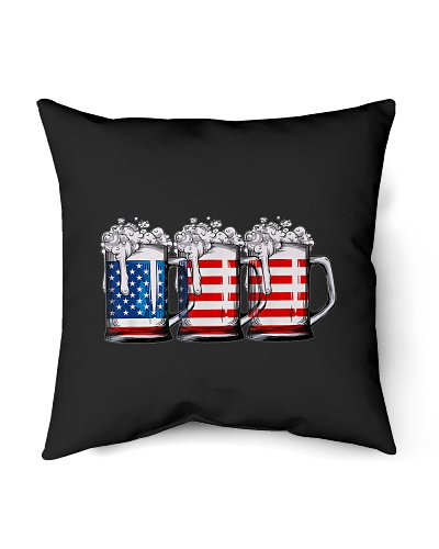 Beer American Flag 4th of July