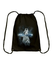 NOT SOLD IN STORES Drawstring Bag front