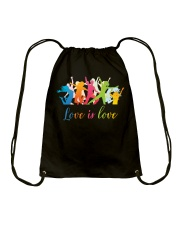 love is love Drawstring Bag tile