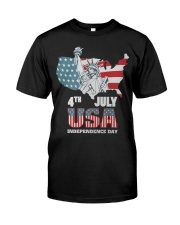 happy independence day 2019 Premium Fit Mens Tee thumbnail