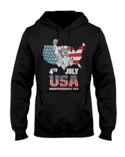 happy independence day 2019 Hooded Sweatshirt thumbnail