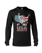 happy independence day 2019 Long Sleeve Tee thumbnail