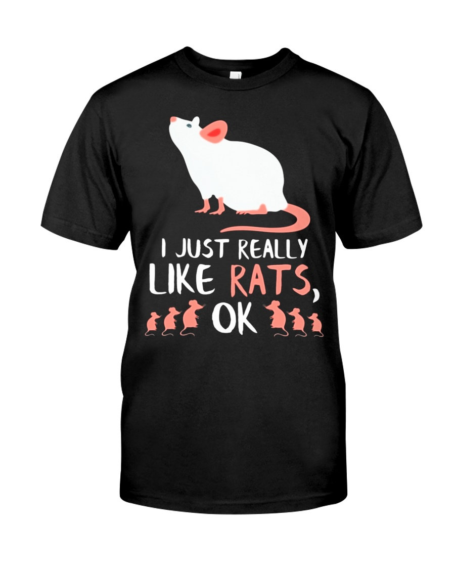 UNIQUE RAT GIFTS RATS OWNER LOVER GIFT 47 Classic T-Shirt
