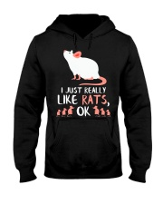 UNIQUE RAT GIFTS RATS OWNER LOVER GIFT 47 Hooded Sweatshirt thumbnail
