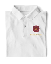 I LOve Wine Classic Polo front