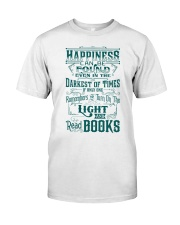 HAPPINESS IS READ BOOKS Classic T-Shirt thumbnail