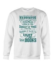 HAPPINESS IS READ BOOKS Crewneck Sweatshirt thumbnail